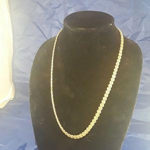 Trifari vintage gold  necklace